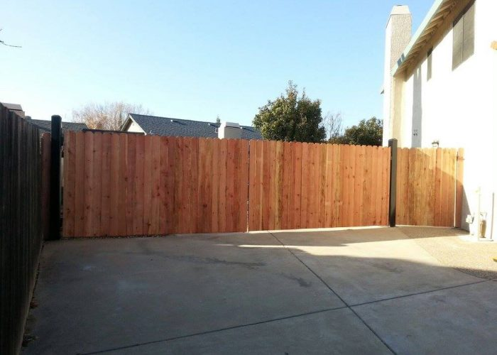 Wood Fence Contractor Wood Gate Installer Fence Granite Bay