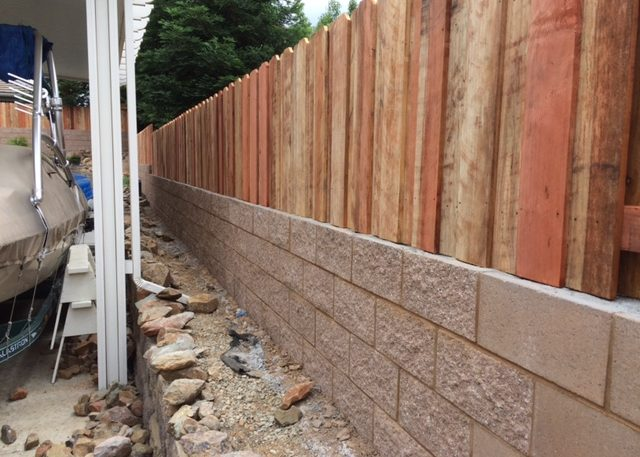 Retaining Wall Contractor Walls Installer